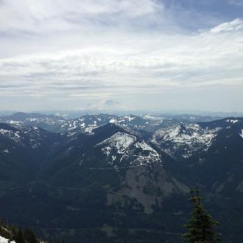 Bandera Mountain and Mason Lake