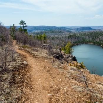 Bean and Bear Lakes Superior Hiking Trail