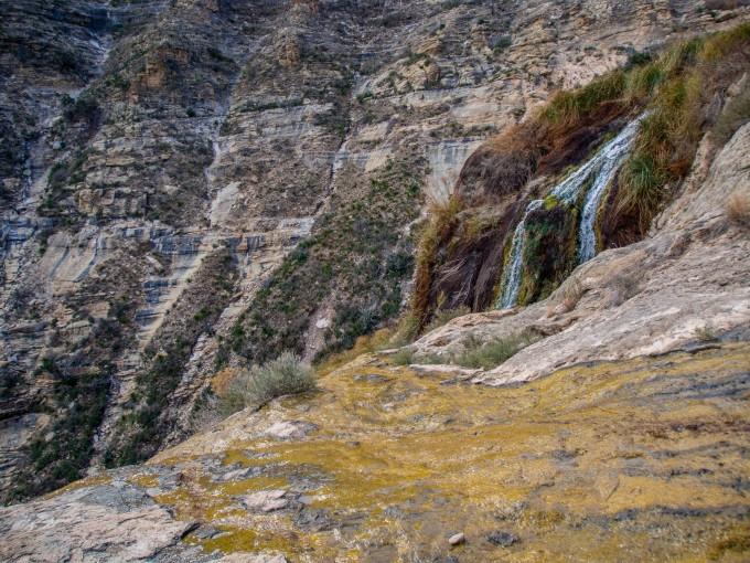 Top of Sitting Bull Falls
