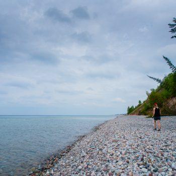 North Country Trail: Grand Sable Lake to Grand Marais, MI