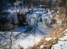 Minneopa and Minnemishinona Falls