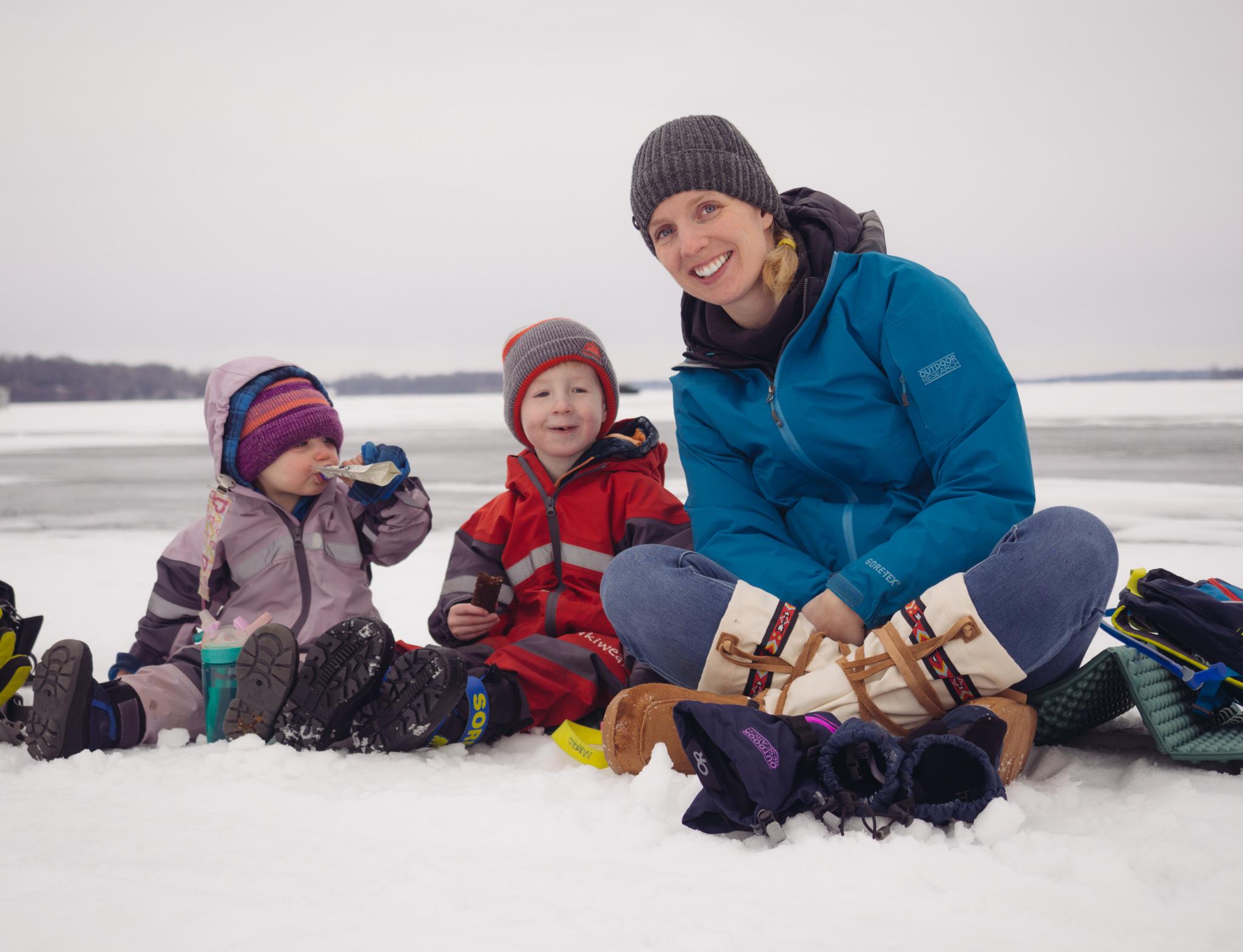 As I Walked Onto Ice I Kept In Mind >> A Walk On Lake Minnetonka We Found Adventure