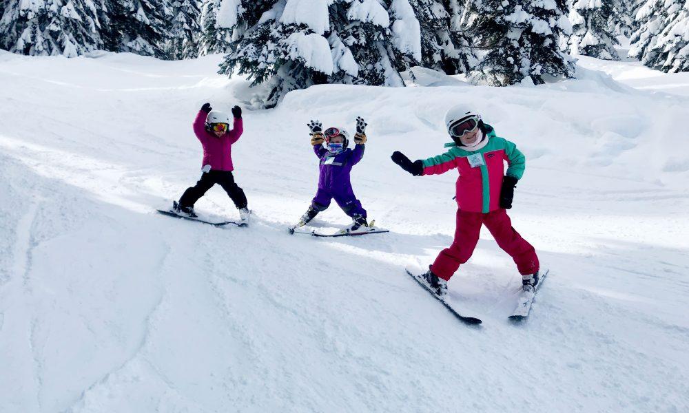 Teaching Toddlers to Ski