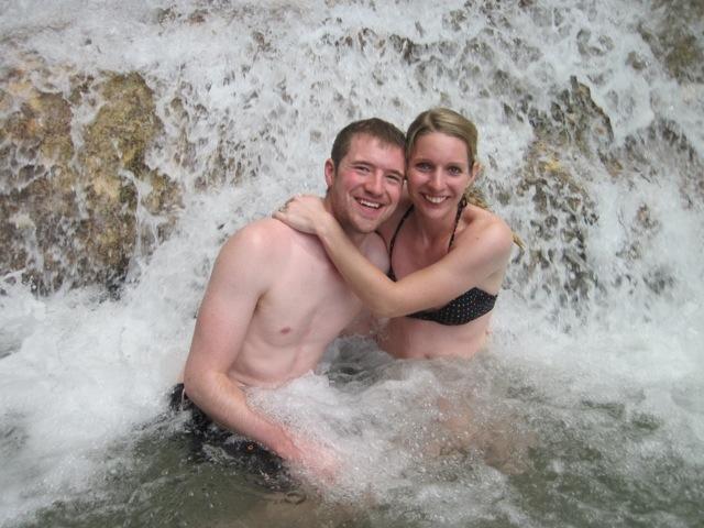 At the Falls!