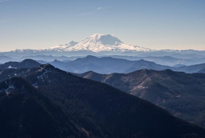 Mt. Rainier!