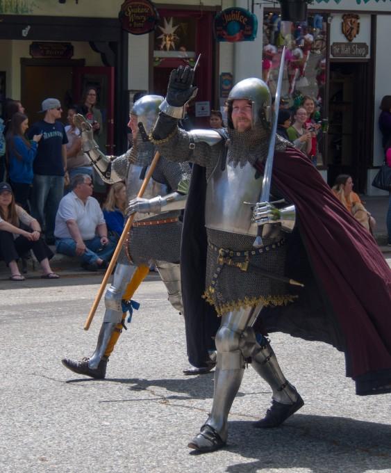 Two random knights...